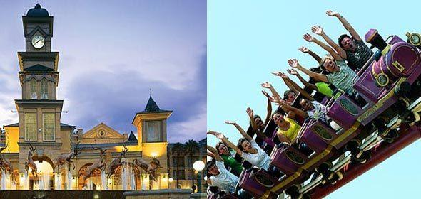 Visit the fun filled Gold Reef City during this tour.
