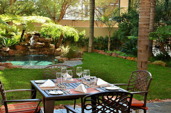 Enjoy Al Fresco dining at Premier Hotel Pretoria.