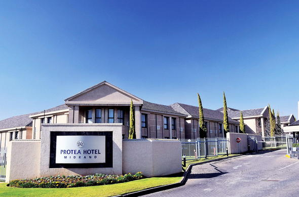 Exterior view of Protea Hotel Midrand in Gauteng.